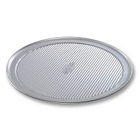 USA Pan 14 in Wide Rim Nonstick Pizza Pan
