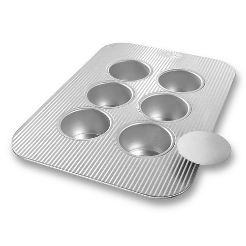USA Pan 6-Cup Nonstick Mini Cheesecake Pan