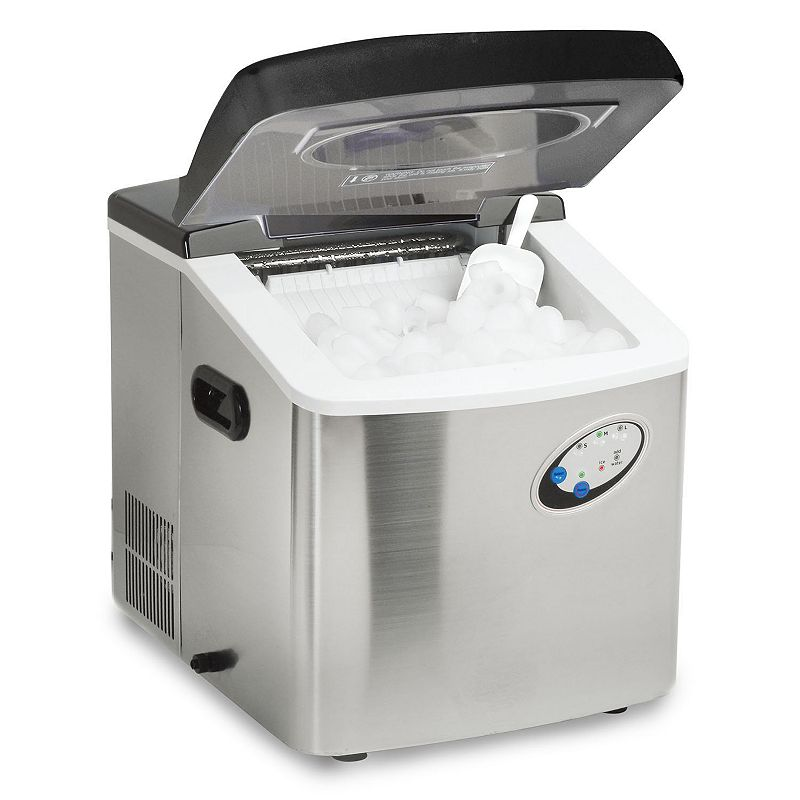 Where To Buy Countertop Ice Maker : Details about Magic Chef 40-Lb. Countertop Ice Maker Stainless Steel ...