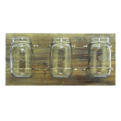 New View Mason Jars Wall Plaque