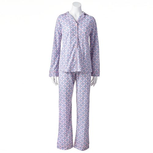 8c7b389f Women's Warm Milk Floral Pajama Set By The Makers of BedHead Pajamas
