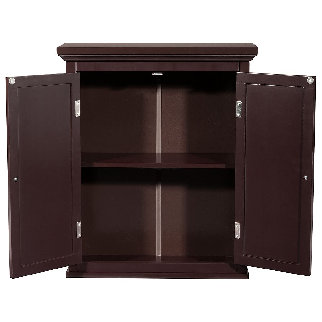 Elegant Home Fashions Saddie Wall Cabinet