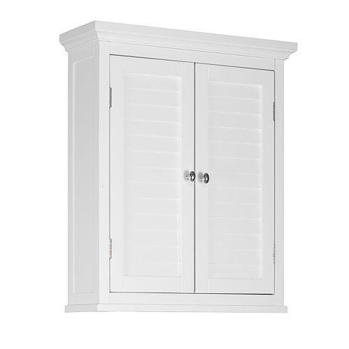 Elegant Home Fashions Saddie Wall Cabinet