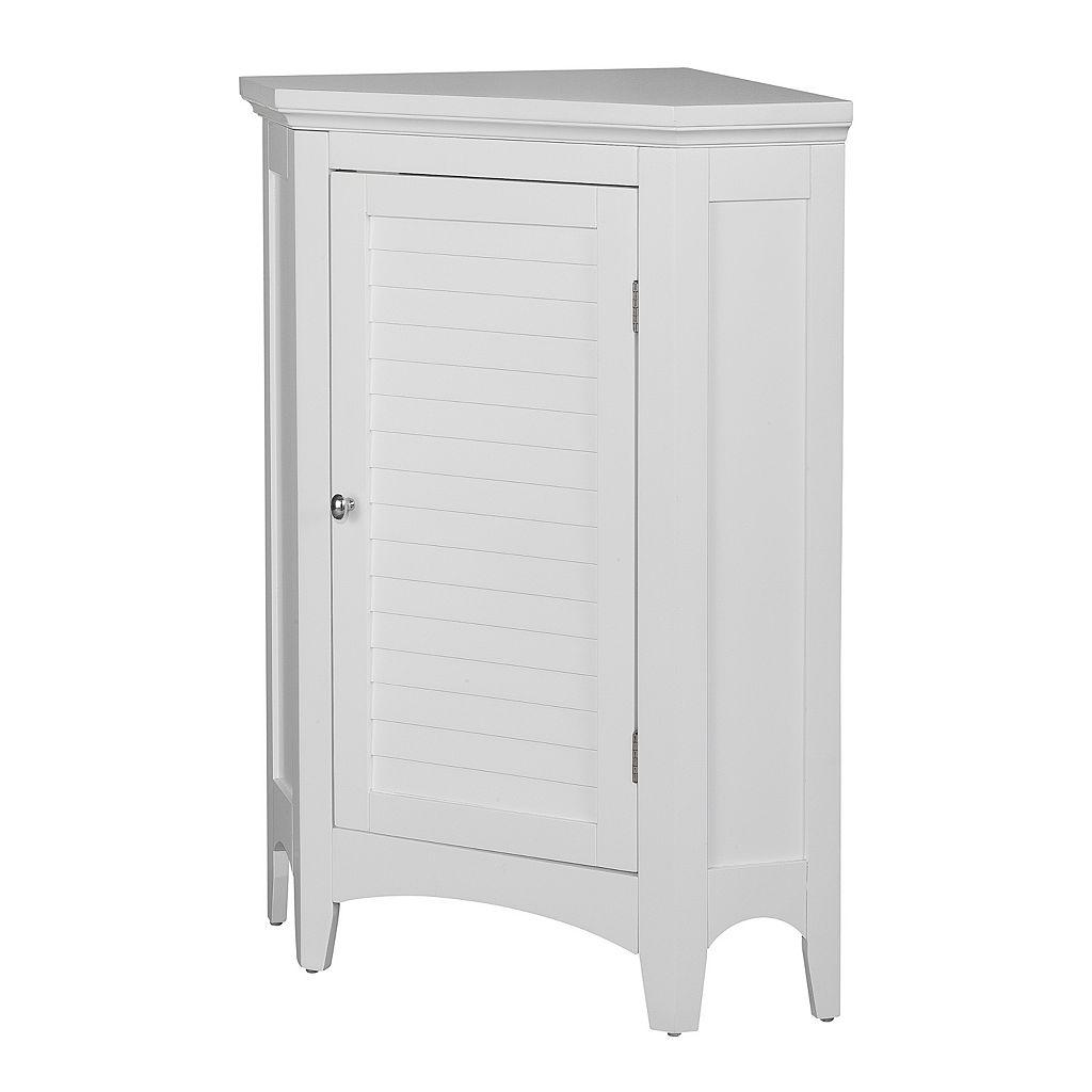 Elegant Home Fashions Saddie Corner Floor Cabinet
