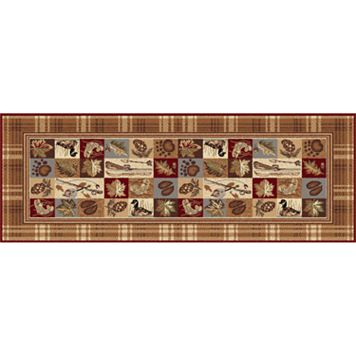 KHL Rugs Nature Lodge Plaid Rug Runner - 2'7