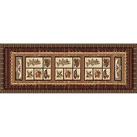KHL Rugs Nature Lodge Canoe Rug Runner - 2'7