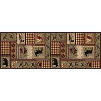 KHL Rugs Nature Lodge Cabin Rug Runner - 2'7