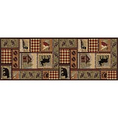 KHL Rugs Nature Lodge Cabin Rug Runner - 2'7' x 7'3'