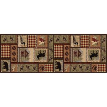 KHL Rugs Nature Lodge Cabin Rug Runner - 2'7'' x 7'3''