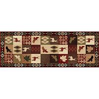 KHL Rugs Nature Lodge Deer Rug Runner - 2'7