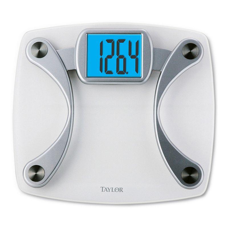 Taylor Accu Glo Clear Glass Digital Bathroom Scale 49 99
