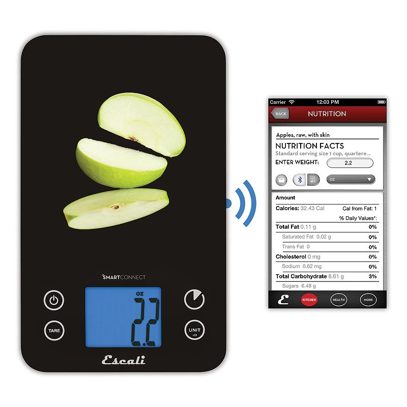 Glass scale kohl 39 s for Bluetooth kitchen scale