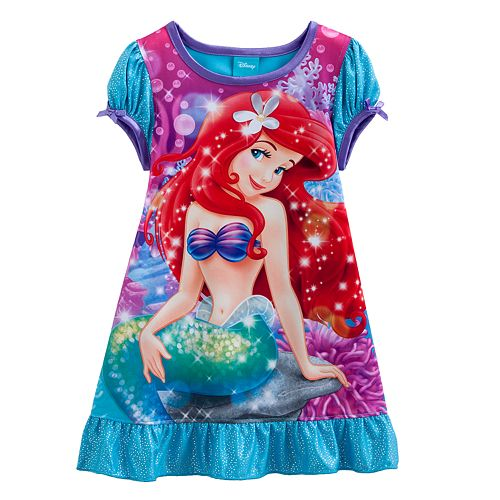 b7877d9c02 Disney Princess Ariel Nightgown - Toddler