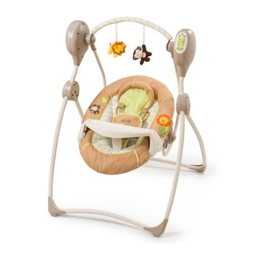 Summer Infant Swingin' Safari Sweet Sleep Portable Swing