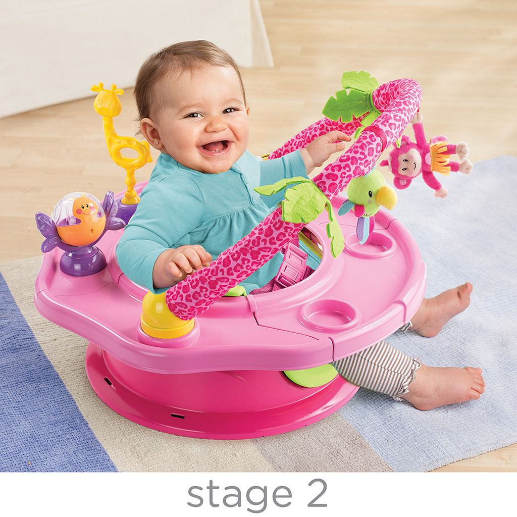 Summer Infant SuperSeat 3-in-1 Deluxe Island Giggles Booster Seat