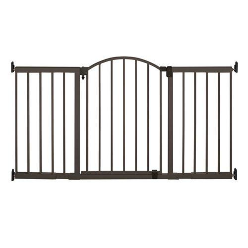 Summer Infant Metal 6 Ft Walk Thru Expansion Gate Bronze