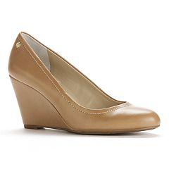 89452b8aa72 Dana Buchman Dress Wedge Heels - Women. Nude. clearance