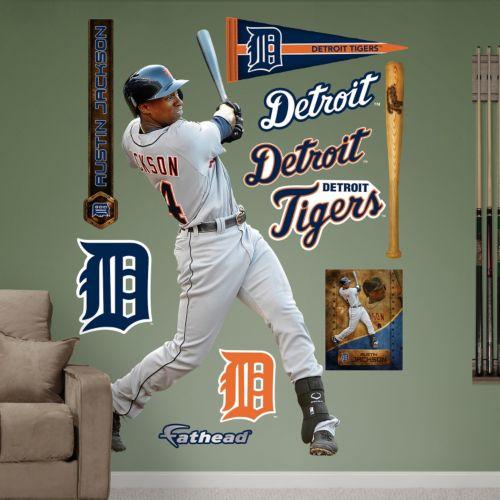Fathead Detroit Tigers Austin Jackson Wall Decals