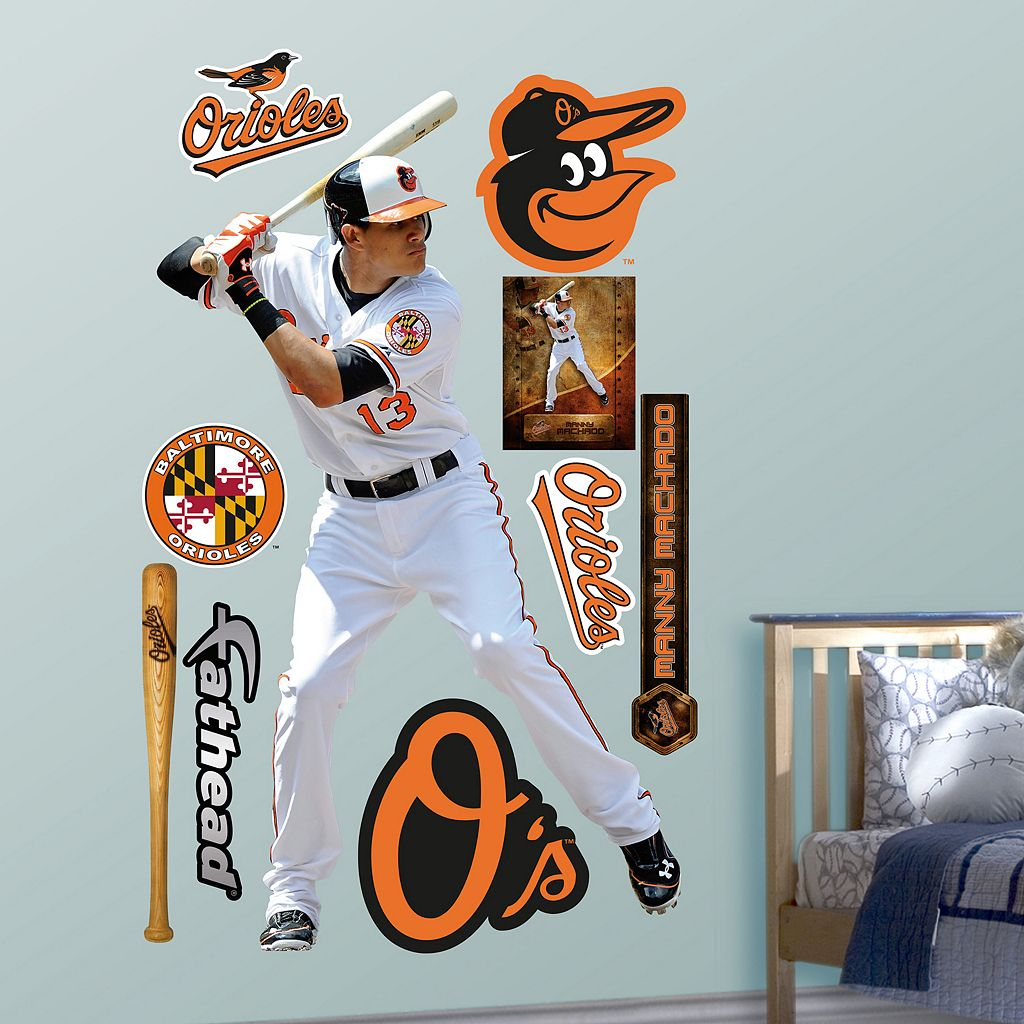 Fathead Baltimore Orioles Manny Machado Wall Decals