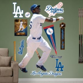 Fathead Los Angeles Dodgers Yasiel Puig Wall Decals