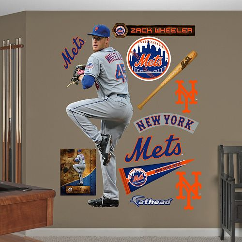 Fathead New York Mets Zack Wheeler Wall Decals