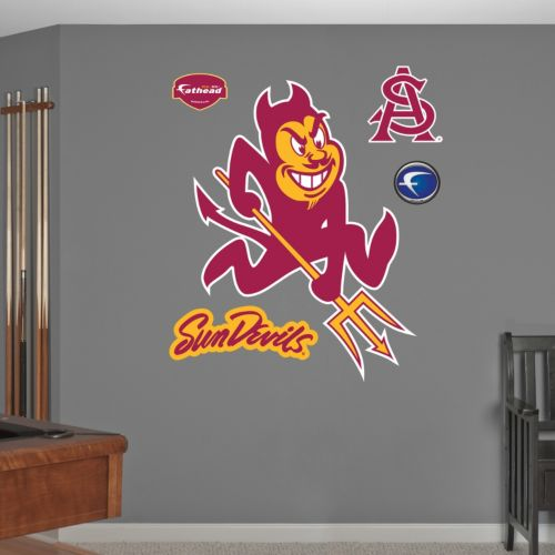 Fathead Arizona State Sun Devils Logo Wall Decals