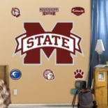 Fathead Mississippi State Bulldogs Logo Wall Decals