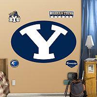 Fathead BYU Cougars Logo Wall Decals