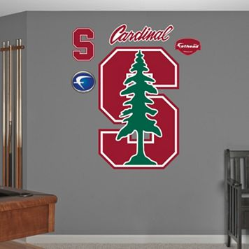Fathead Stanford Cardinal Logo Wall Decals