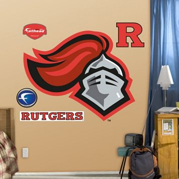 Fathead Rutgers Scarlet Knights Logo Wall Decals