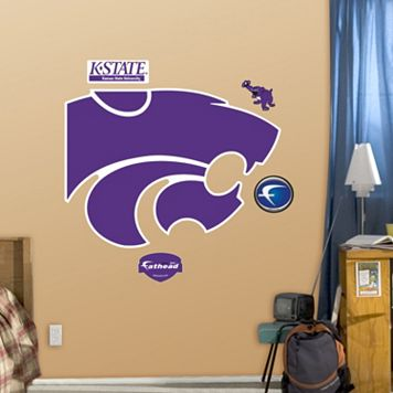 Fathead Kansas State Wildcats Logo Wall Decals