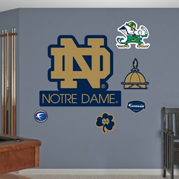 Fathead Notre Dame Fighting Irish Logo Wall Decals