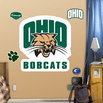 Fathead Ohio University Bobcats Logo Wall Decals