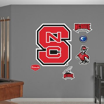 Fathead North Carolina State Wolfpack Logo Wall Decals
