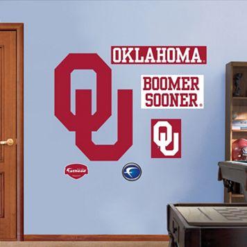 Fathead Oklahoma Sooners Logo Wall Decals