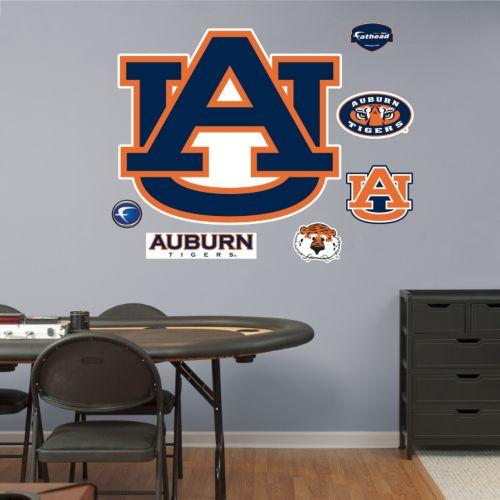 Fathead Auburn Tigers Logo Wall Decals