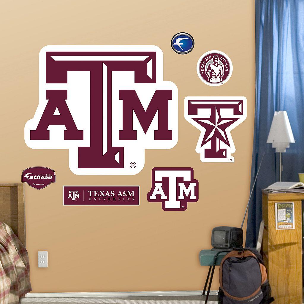 Fathead Texas A&M Aggies Logo Wall Decals