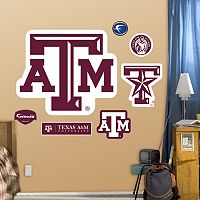 Fathead Texas A&M Aggies Logo Wall Decals