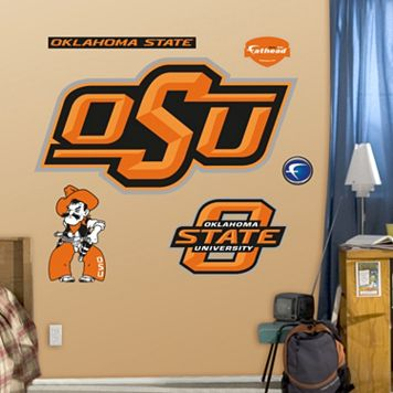 Fathead Oklahoma State Cowboys Logo Wall Decals