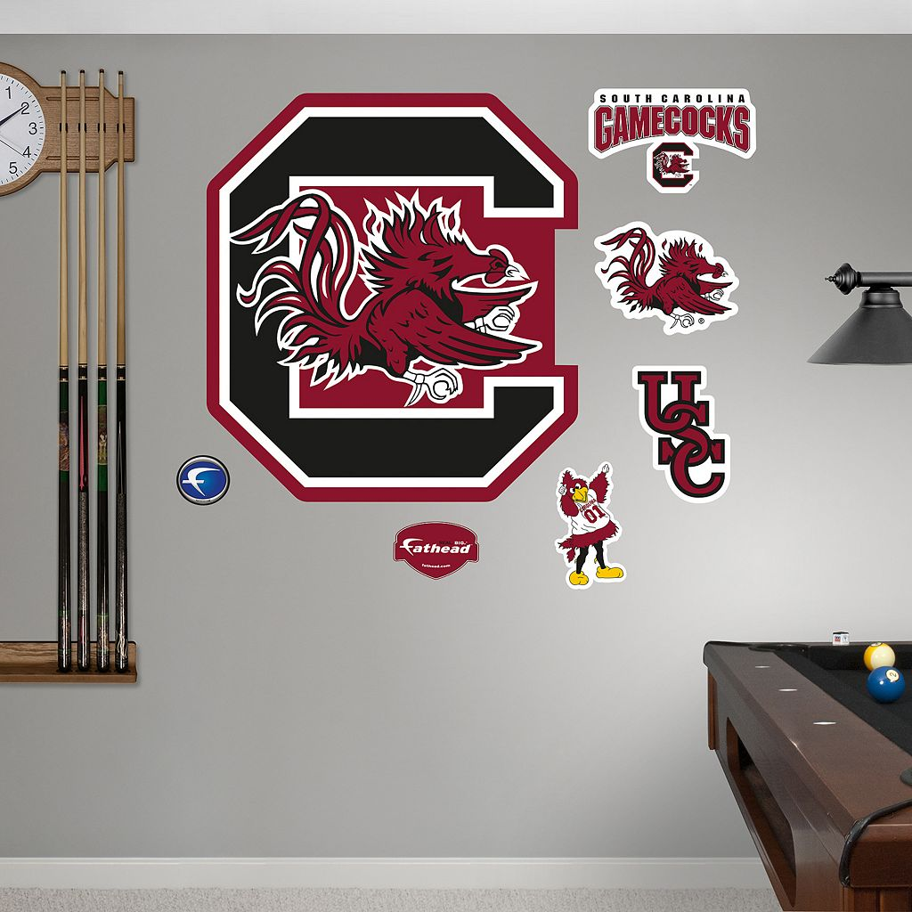 Fathead South Carolina Gamecocks Wall Decals