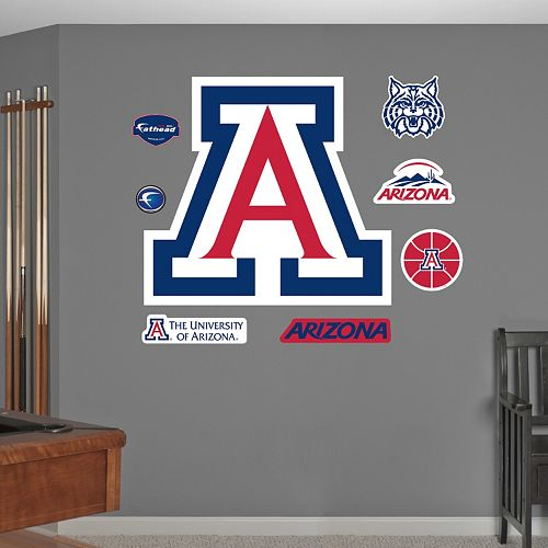 Fathead Arizona Wildcats Wall Decals
