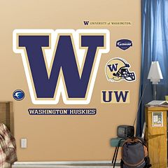 Fathead Washington Huskies Wall Decals