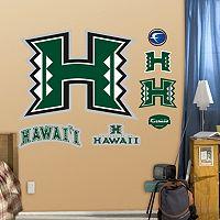 Fathead Hawaii Rainbow Warriors Wall Decals