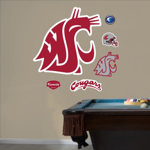 Fathead Washington State Cougars Wall Decals