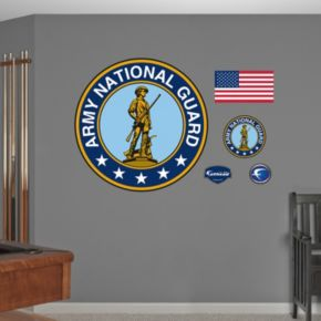 Fathead Army National Guard Wall Decals