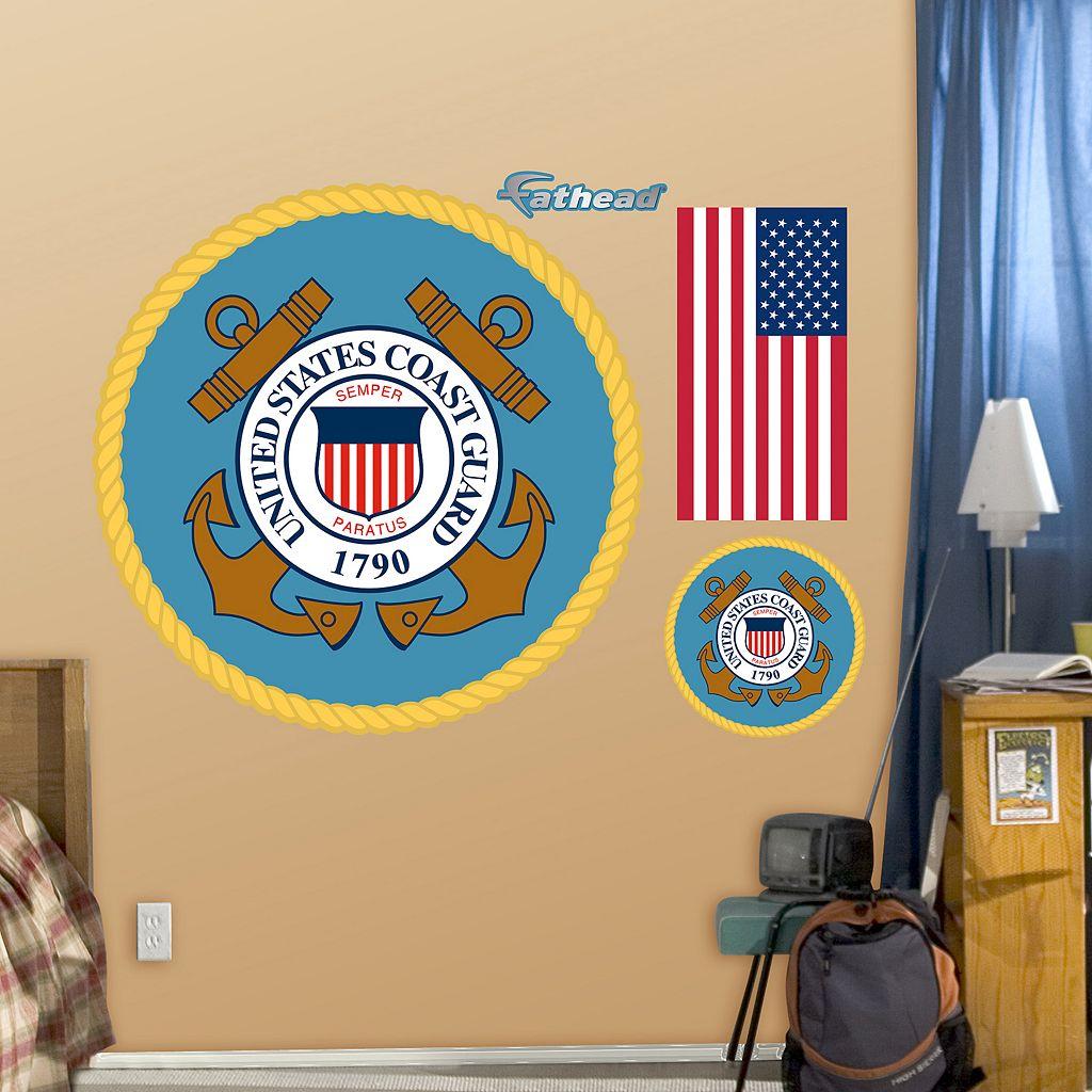 Fathead United States Coast Guard Wall Decals