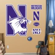 Fathead Northwestern Wildcats Wall Decals