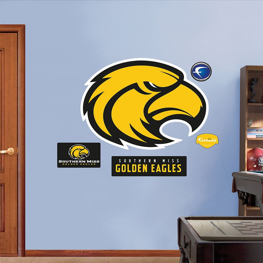 Fathead Southern Miss Golden Eagles Wall Decals