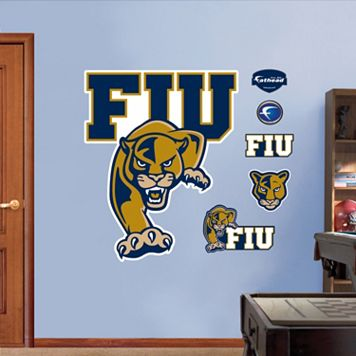 Fathead FIU Golden Panthers Wall Decals