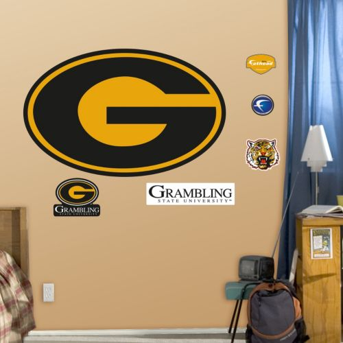 Fathead Grambling State Tigers Wall Decals